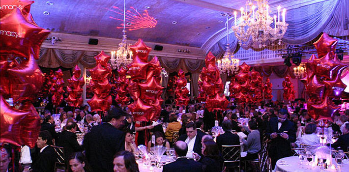 Delivered Balloons in New York Event